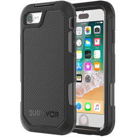 GRIFFIN SURVIVOR EXTREME ETUI PANCERNE IPHONE 8 / 7 (CZARNY)