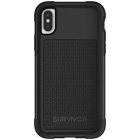 GRIFFIN SURVIVOR FIT ETUI PANCERNE IPHONE X (CZARNY)