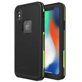 Lifeproof FRĒ Etui Wodoszczelne IP68 do iPhone Xs / X (Asphalt)