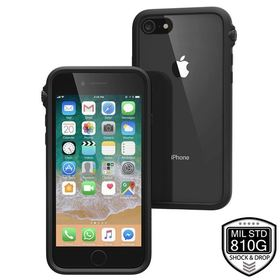 CATALYST IMPACT PROTECTION CASE ETUI PANCERNE IPHONE 8 / 7 (STEALTH BLACK)