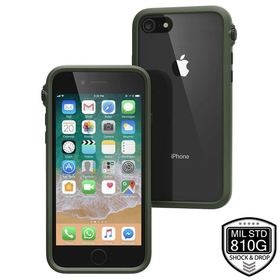 CATALYST IMPACT PROTECTION CASE ETUI PANCERNE IPHONE 8 / 7 (ARMY GREEN/BLACK)