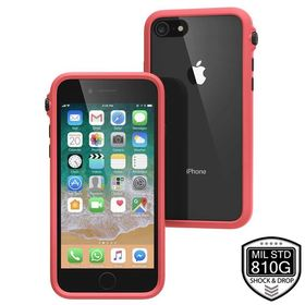 CATALYST IMPACT PROTECTION CASE ETUI PANCERNE IPHONE 8 / 7 (CORAL/BLACK)