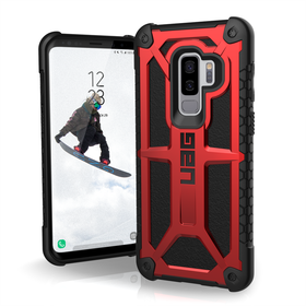 Urban Armor Gear UAG Monarch Etui Pancerne do Samsung Galaxy S9+ Plus (Crimson)