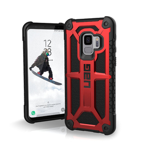 Urban Armor Gear UAG Monarch Etui Pancerne Samsung Galaxy S9 (Crimson)