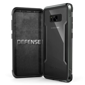 (EOL) X-Doria Defense Shield Etui Aluminiowe do Samsung Galaxy S8+ Plus (Black)