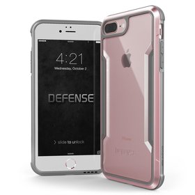 X-Doria Defense Shield Etui Aluminiowe do iPhone 8 Plus / 7 Plus (Rose Gold)