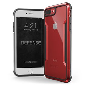 X-Doria Defense Shield Etui Aluminiowe do iPhone 8 Plus / 7 Plus (Red)