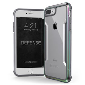 X-Doria Defense Shield Etui Aluminiowe do iPhone 8 Plus / 7 Plus (Iridescent)