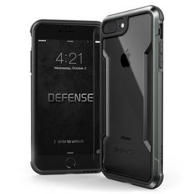 X-Doria Defense Shield Etui Aluminiowe do iPhone 8 Plus / 7 Plus (Black)