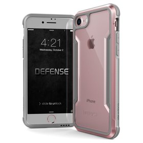 X-Doria Defense Shield Etui Aluminiowe do iPhone 8 / 7 (Rose Gold)