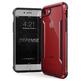 X-Doria Defense Shield Etui Aluminiowe do iPhone 8 / 7 (Red)