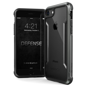 X-Doria Defense Shield Etui Aluminiowe do iPhone 8 / 7 (Black)