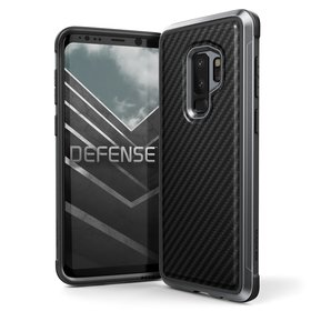 X-Doria Defense Lux Etui Aluminiowe Samsung Galaxy S9+ Plus (Black Carbon)