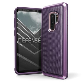 X-Doria Defense Lux Etui Aluminiowe Samsung Galaxy S9+ Plus (Purple Ballistic Nylon)