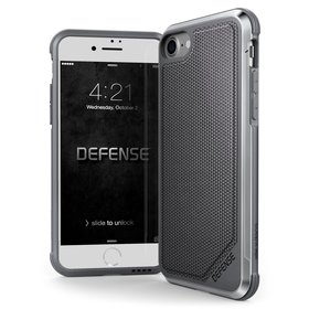 (EOL) X-Doria Defense Lux Etui Aluminiowe do iPhone 8 / 7 (Ballistic Nylon)