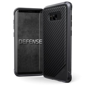 X-Doria Defense Lux Etui Aluminiowe do Samsung Galaxy S8+ Plus (Black Carbon Fiber)