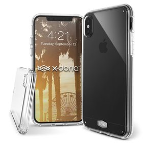 (EOL) X-Doria ClearVue Etui Obudowa do iPhone Xs / X (Clear)