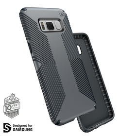 Speck Presidio Grip Etui Obudowa Samsung Galaxy S8+ Plus (Graphite Grey/Charcoal Grey)