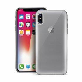 (EOL) Puro Plasma Cover Etui Obudowa do iPhone Xs / X (Przezroczysty)