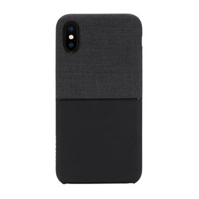 Incase Textured Snap Etui Obudowa do iPhone Xs / X (Black)
