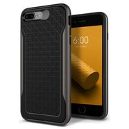 CASEOLOGY APEX CASE ETUI OBUDOWA IPHONE 8 PLUS / 7 PLUS (BLACK/WARM GRAY)
