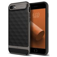 CASEOLOGY PARALLAX CASE ETUI OBUDOWA IPHONE 8 / 7 (BLACK/WARM GRAY)