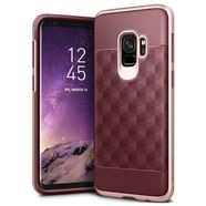 CASEOLOGY PARALLAX CASE ETUI OBUDOWA SAMSUNG GALAXY S9 (BURGUNDY/ROSE GOLD)