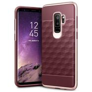 CASEOLOGY PARALLAX CASE ETUI OBUDOWA SAMSUNG GALAXY S9+ PLUS (BURGUNDY/ROSE GOLD)
