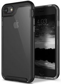 Caseology Skyfall Case Etui Obudowa iPhone 8 / 7 (Black)