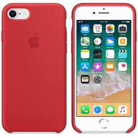 Apple Silicone Case Etui Obudowa iPhone 8 / 7 (Czerwony) (Product) Red