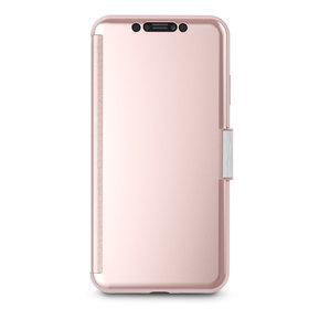 Moshi StealthCover Etui Z Klapką iPhone Xs Max (Champagne Pink)