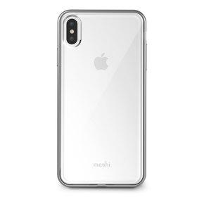 Moshi Vitros Etui Obudowa iPhone Xs Max (Jet Silver)