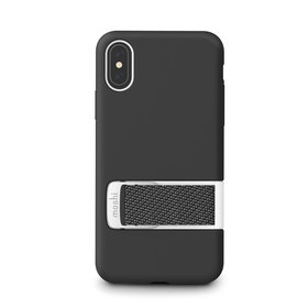 Moshi Capto Etui Obudowa do iPhone Xs / X (Mulberry Black)