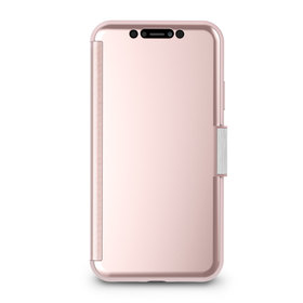 Moshi StealthCover Etui Z Klapką iPhone Xr (Champagne Pink)
