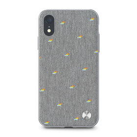 Moshi Vesta Etui Obudowa iPhone Xr (Pebble Gray)