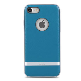 Moshi Napa Etui Obudowa do iPhone 8 / 7 (Marine Blue)