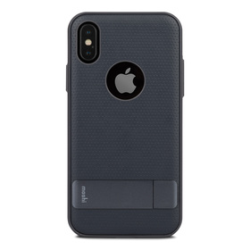 Moshi Kameleon Etui z Podstawką do iPhone Xs / X (Midnight Blue)
