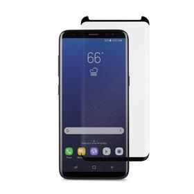 (EOL) Moshi IonGlass Szkło Hartowane 9H Na Cały Ekran do Samsung Galaxy S8+ Plus (Black)
