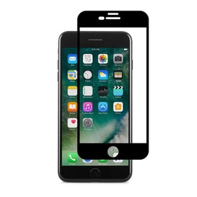 Moshi IonGlass Szkło Hartowane 9H Na Cały Ekran do iPhone 8 Plus / iPhone 7 Plus / iPhone 6S Plus / iPhone 6 Plus (Black)
