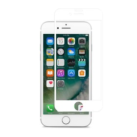 (EOL) Moshi IonGlass Szkło Hartowane 9H Na Cały Ekran do iPhone 8 Plus / iPhone 7 Plus / iPhone 6S Plus / iPhone 6 Plus (White)