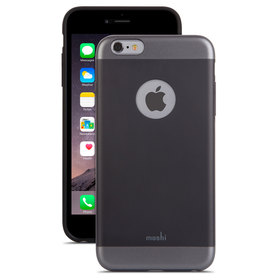 Moshi iGlaze Etui Obudowa do iPhone 6S / 6 (Graphite Black)
