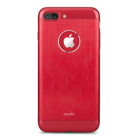 Moshi Armour Etui Aluminiowe do iPhone 8 Plus / 7 Plus (Crimson Red)
