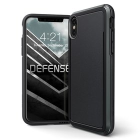 (EOL) X-Doria Defense Ultra Etui Pancerne do iPhone Xs / iPhone X (Drop Test 4m) (Black)