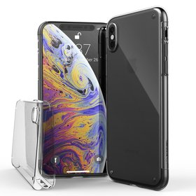 (EOL) Raptic Defense 360 Etui Przód + Tył do iPhone Xs / iPhone X (Clear)
