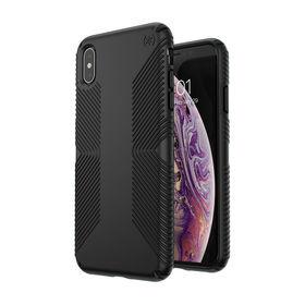 Speck Presidio Grip Etui Obudowa iPhone Xs Max (Black/Black)