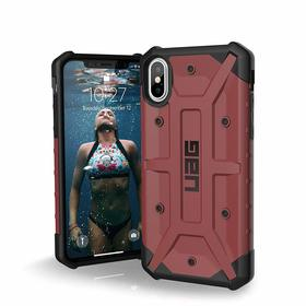 Urban Armor Gear UAG Pathfinder Etui Pancerne do iPhone Xs / X (Carmine)