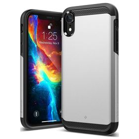Caseology Legion Case Etui Obudowa iPhone Xr (Silver)