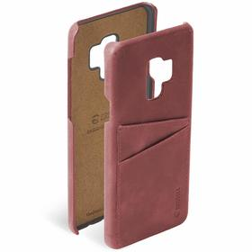 Krusell Sunne 2 Card Cover Etui Obudowa Samsung Galaxy S9 (Red)