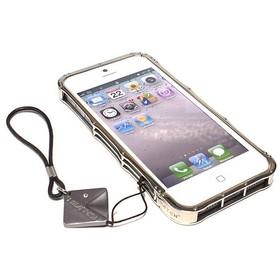 (EOL) iMatch Bumper Aluminiowy do iPhone SE / 5S / 5 (Silver)