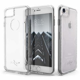 (EOL) Zizo Pik Case Etui Obudowa do iPhone 8 / 7 (Clear) + Szkło Hartowane Na Ekran